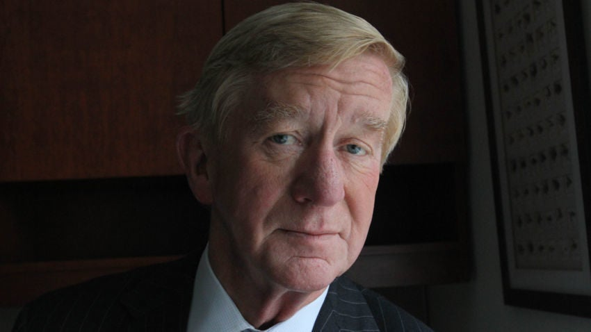 OUCH! Bill Weld wants Trump's job. And nobody -- NOBODY -- seems to care