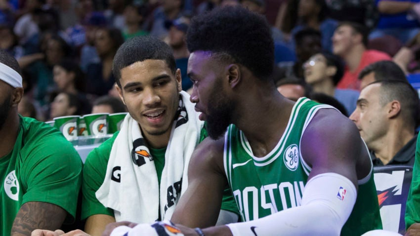 5 things we learned from Jaylen Brown and Jayson Tatum's interview with each other