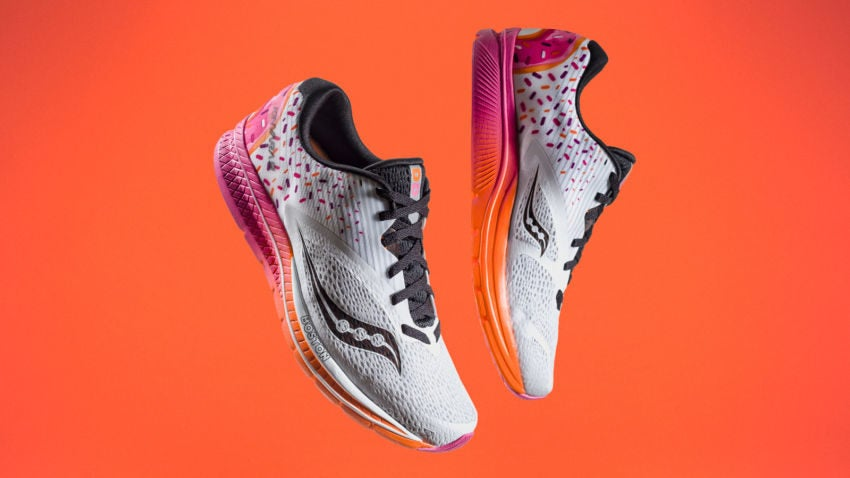 College Media Network New Dunkin' Donuts Running Shoes Gives a New Meaning to