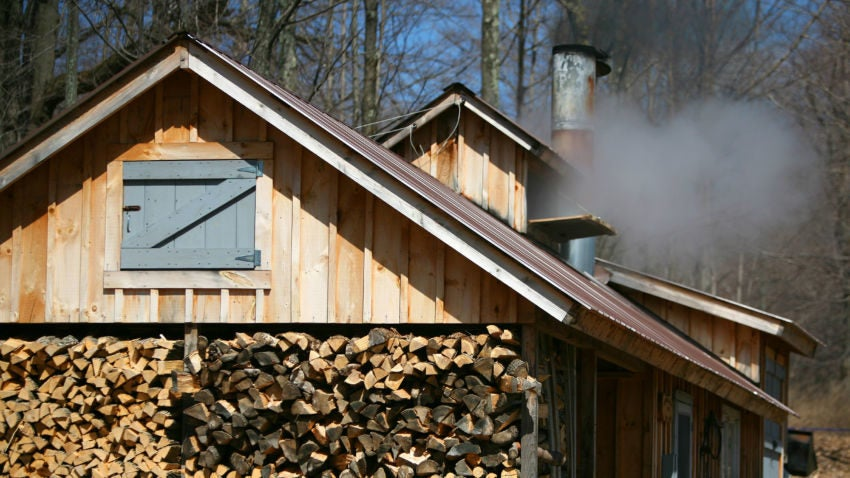 Vermont sugar shack with a wood fired evaporator credit stephen goodhue 1 850x478$large