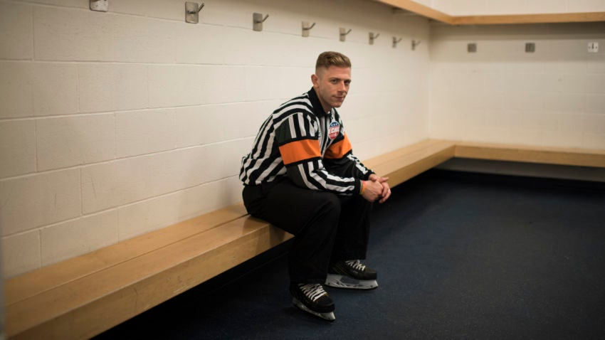 A Gay Referee Tries To Find His Place In Hockey