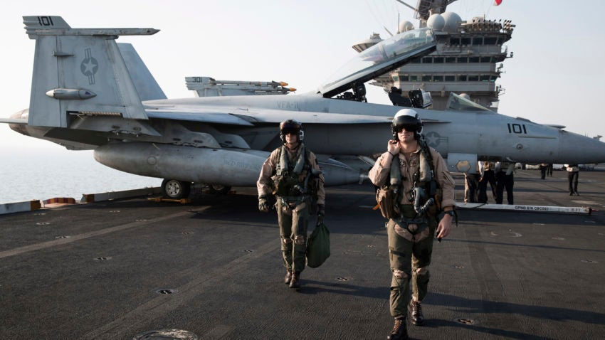 'Wow, What Is That?' Navy Pilots Report Unexplained Flying Objects C4ff795b-f8e8-4981-8ae0-c0caee553460-850x478$large