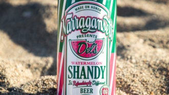 Narragansett released a new watermelon version of its Del ...