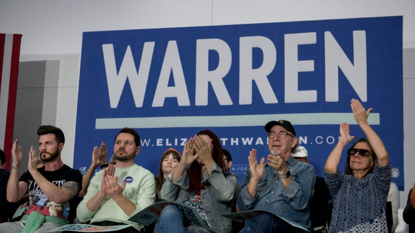 Boston Globe - Elizabeth Warren's allies criticize flagging coverage as campaign seeks to regain...