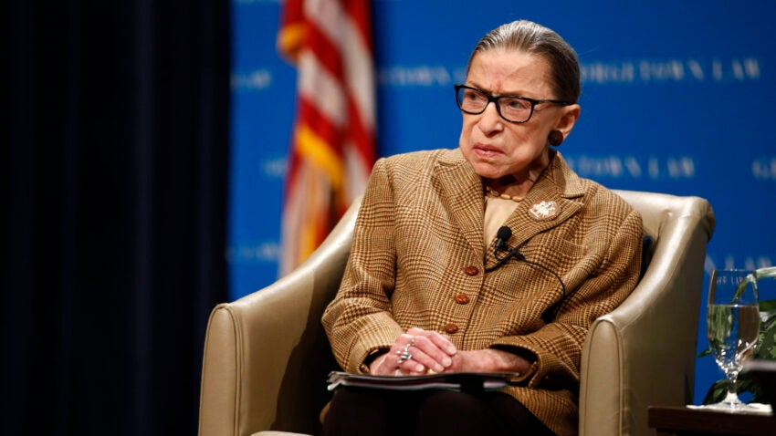 Justice Ginsberg Receiving Cancer Treatment for Four Months